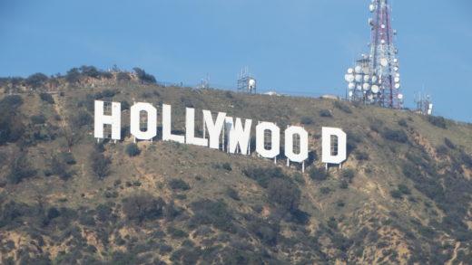 Letreiro de Hollywood em Los Angeles na California