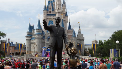 Disney Magic Kingdom no Walt Disney World Orlando na Florida