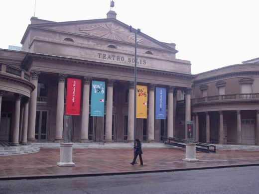 Teatro Solis em Montevideu no Uruguai