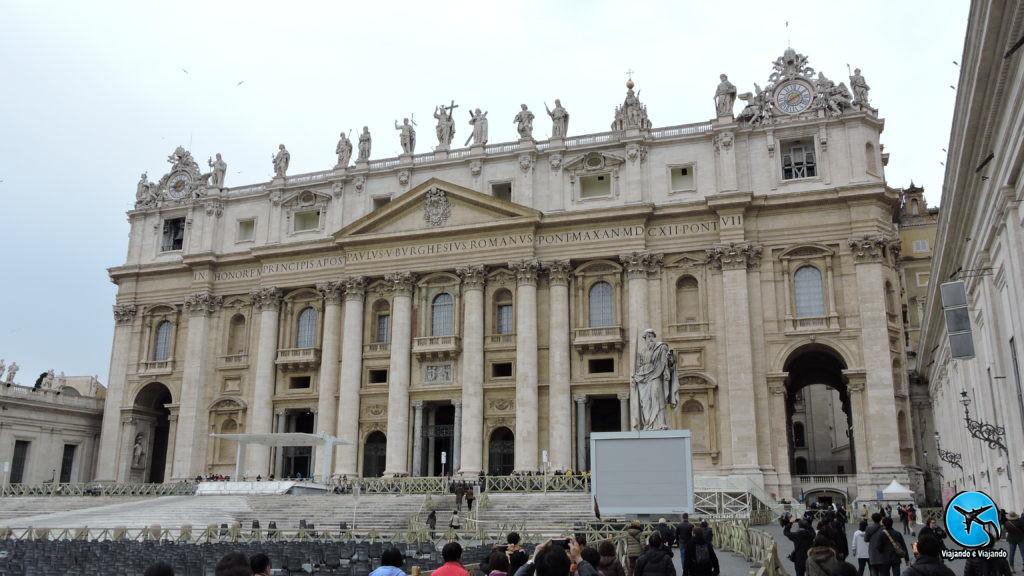 Praça de São Pedro no Vaticano Piazza di San Pietro