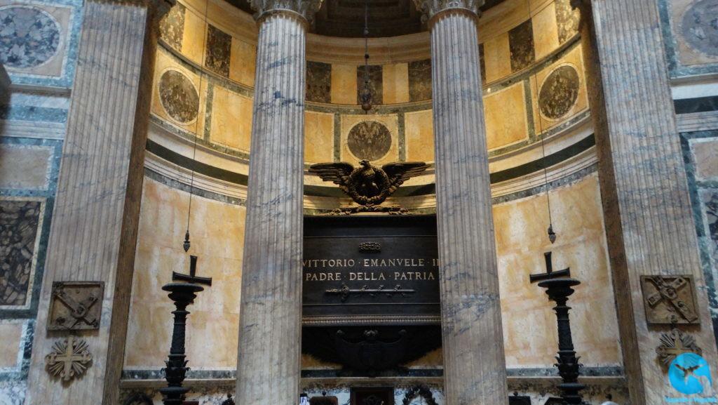 Interior do Pantheon em Roma