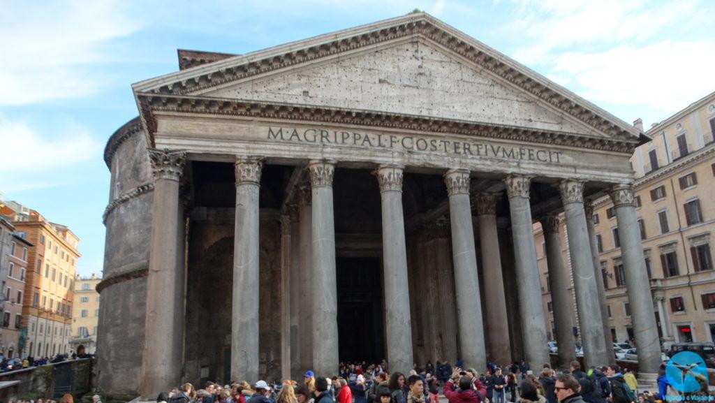 Pantheon em Roma na Itália