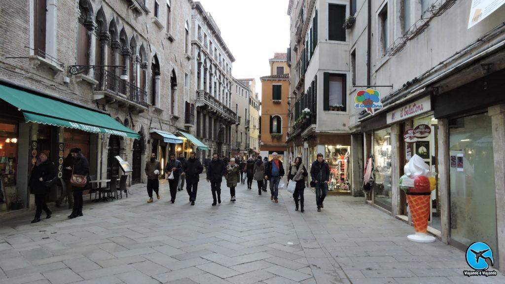 roteiro a pé em veneza na itália