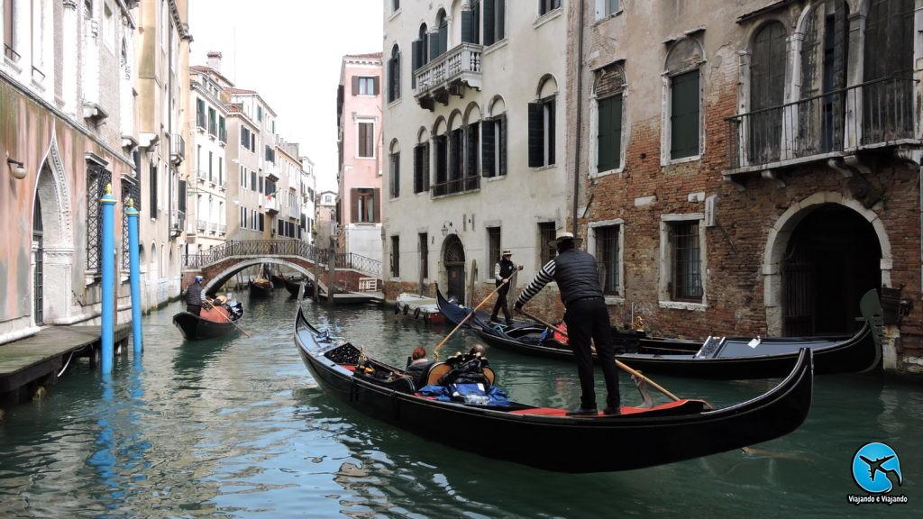 Vale a pena fazer o passeio de gondola em Veneza na Itália