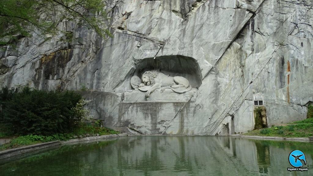 Monumento ao Leão Moribundo - Löwendenkmal em Lucerna