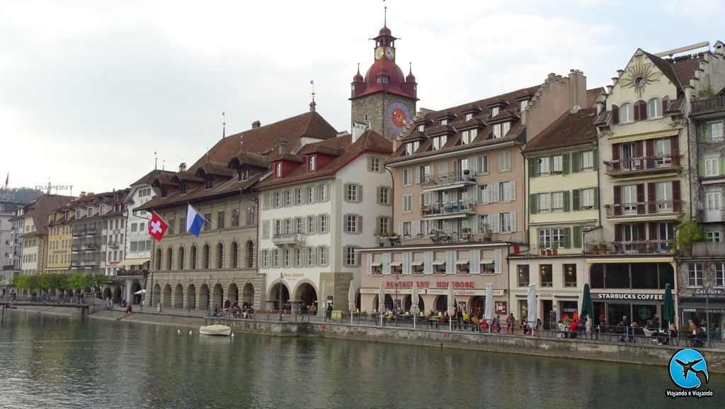 Prefeitura - Alter Rathaus Luzern em Lucerna na Suíça