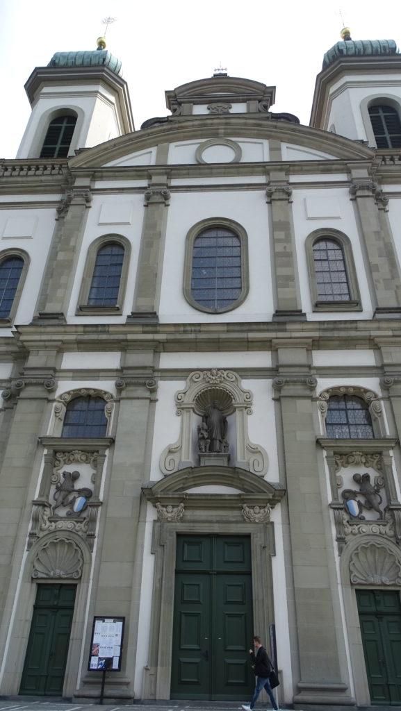 Igreja dos Jesuítas - Jesuitenkirche em Lucerna na Suíça
