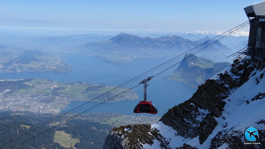Monte Pilatus e o Dragon Ride em Lucerna Luzern