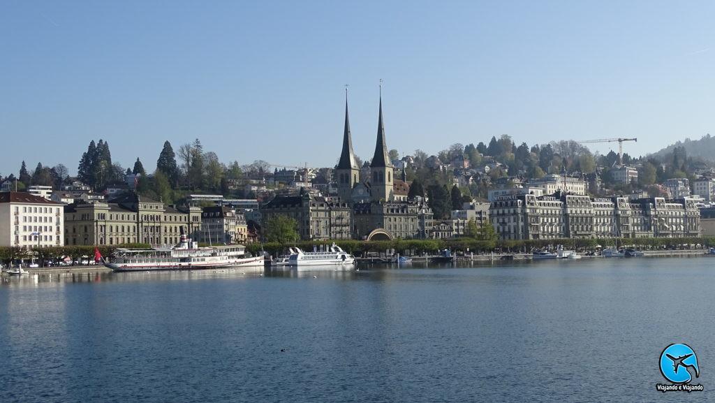Boat trip in Lake Luzern Switzerland