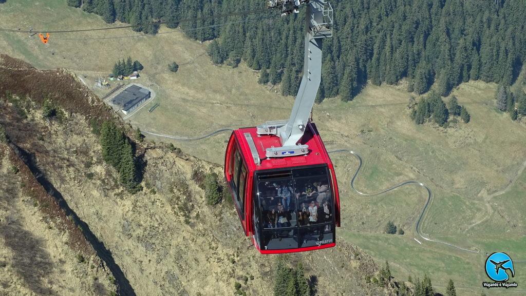 Dragon Ride no Monte Pilatus em Lucerna na Suíça