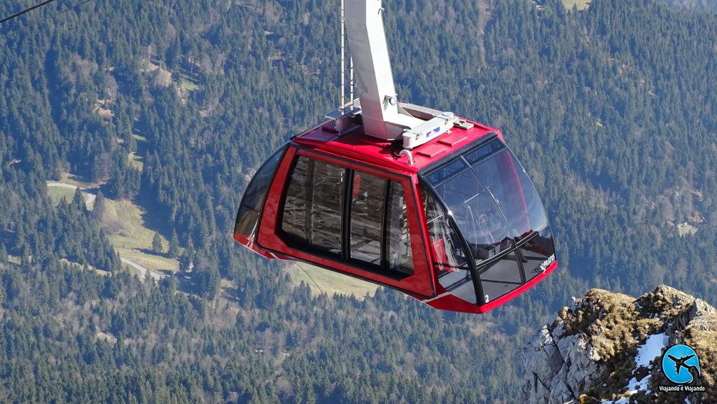 Dragon Ride no Monte Pilatus em Lucerna na Suíça Luzern Switzerland