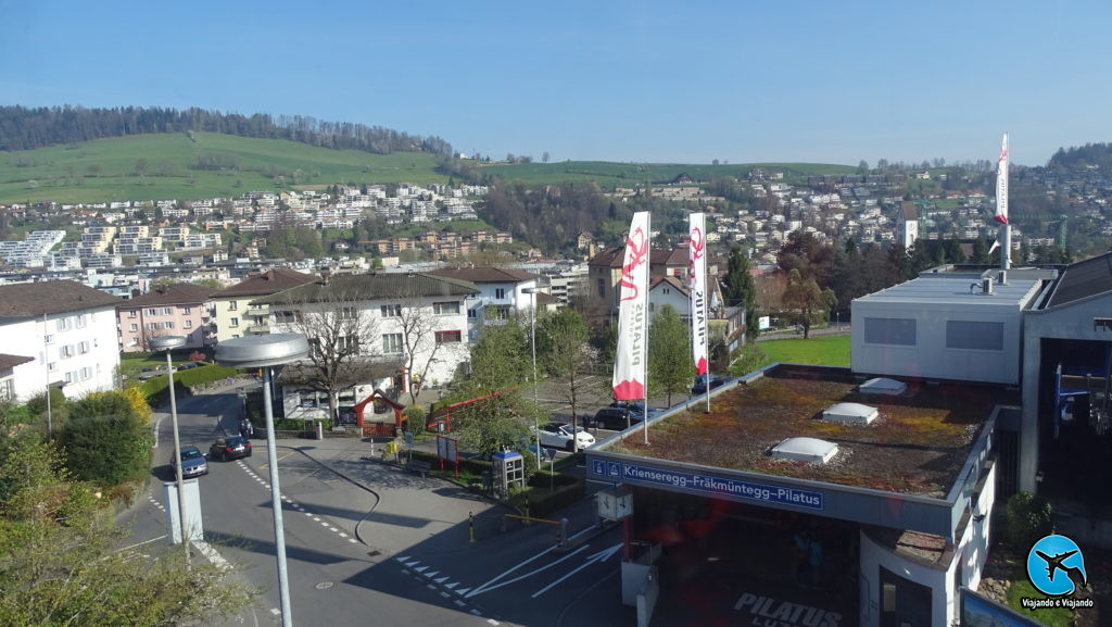 Monte Pilatus em Lucerna na Suíça Luzern Switzerland