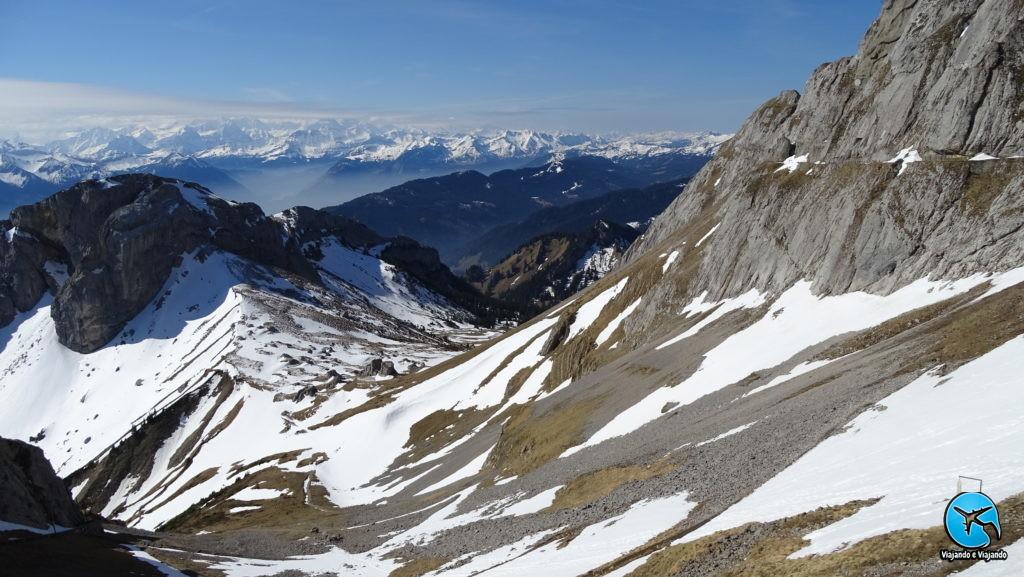 Monte Pilatus em Lucerna na Suíça