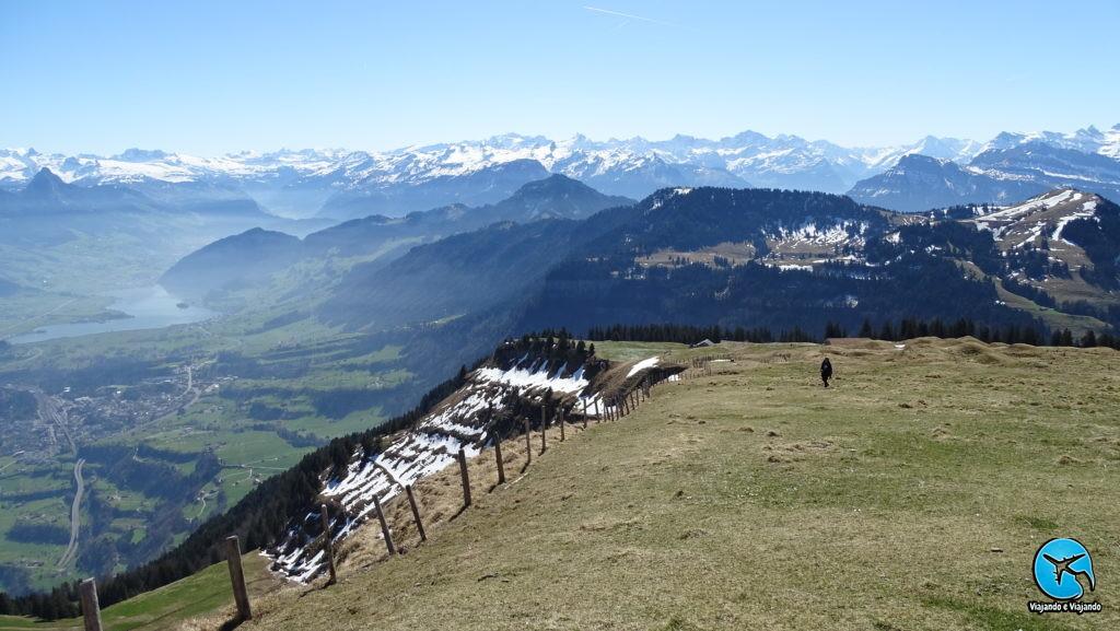 Rigi Montain Kulm beautful view