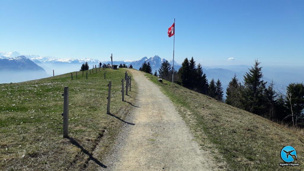 Monte Rigi Trekking na Suíça