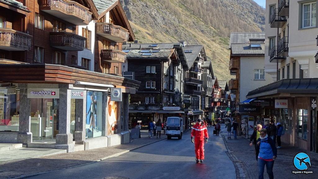 Zermatt Matterhorn Suíça centrinho