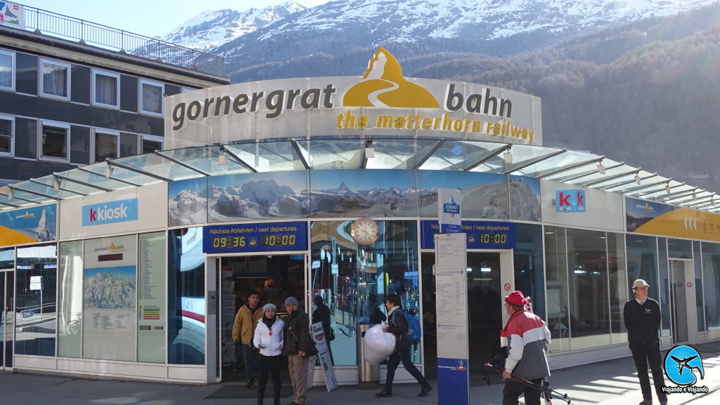 Gornergrat Bahn Zermatt matterhorn na Suíça