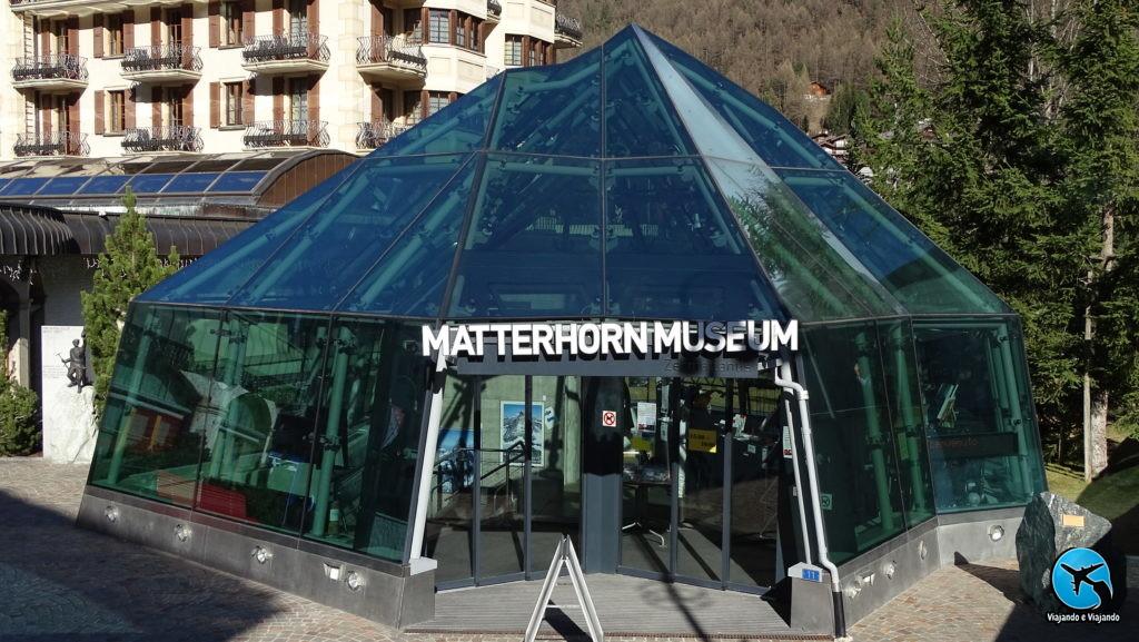 matterhorn Museum em Zermatt Matterhorn Suíça