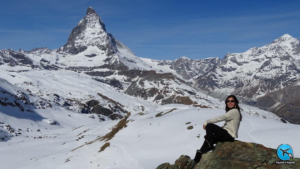 ski em zermatt no verão ou no inverno