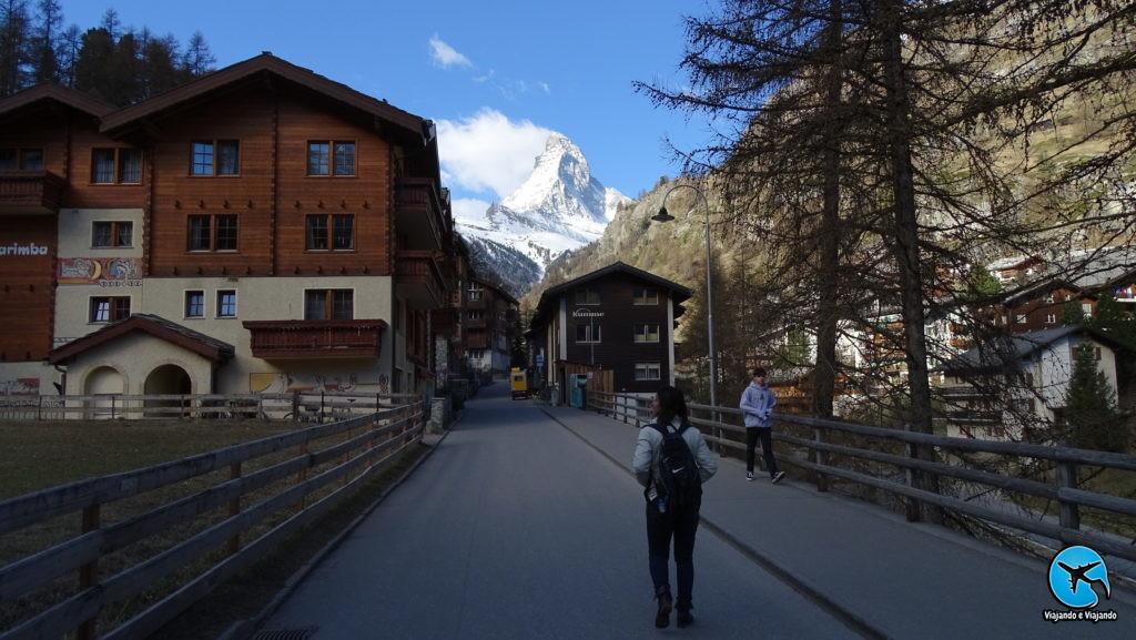 caminhada em Zermatt Matterhorn Suíça