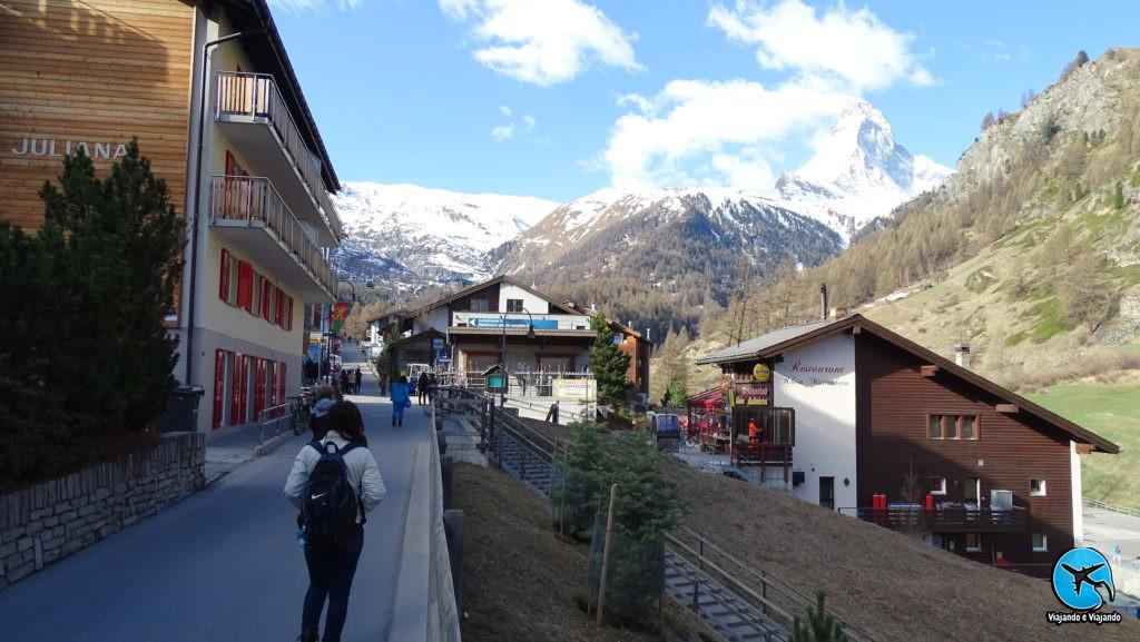Zermatt Matterhorn na Suíça