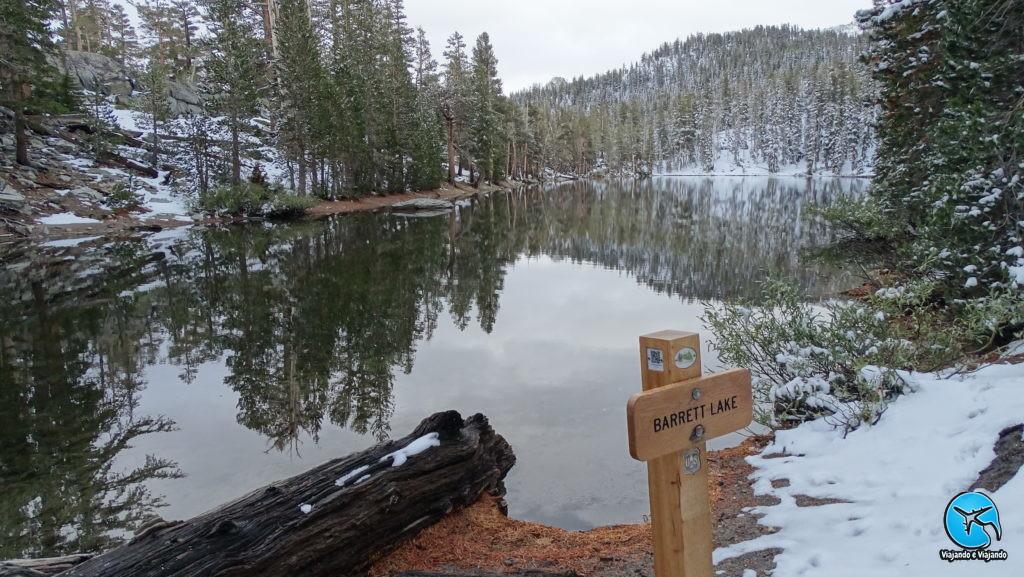 Barret Lake em Mammoth Lakes