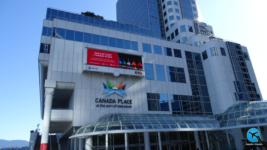 Canada Place in Vancouver city downtown