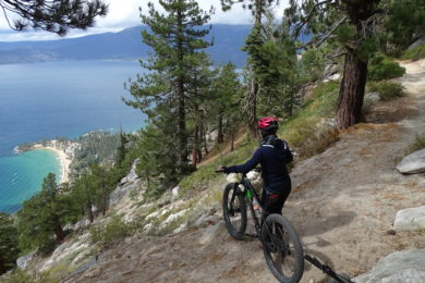 Flume Trail Lake Tahoe