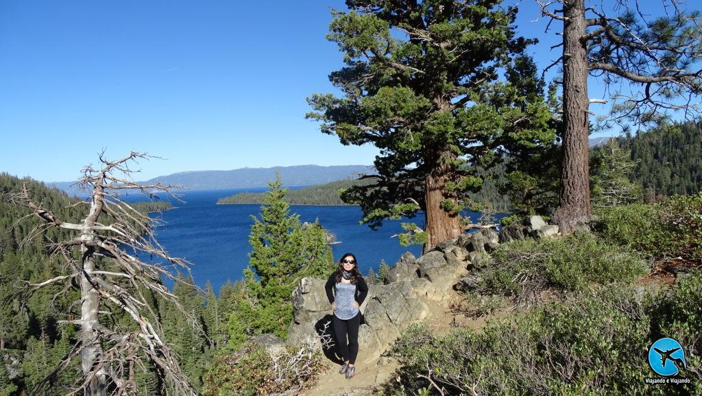 Trilha em Lake Tahoe