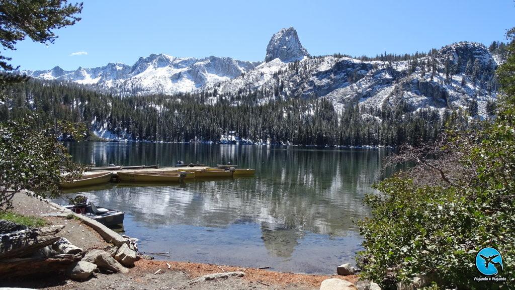 Lake George em Mammoth Lakes