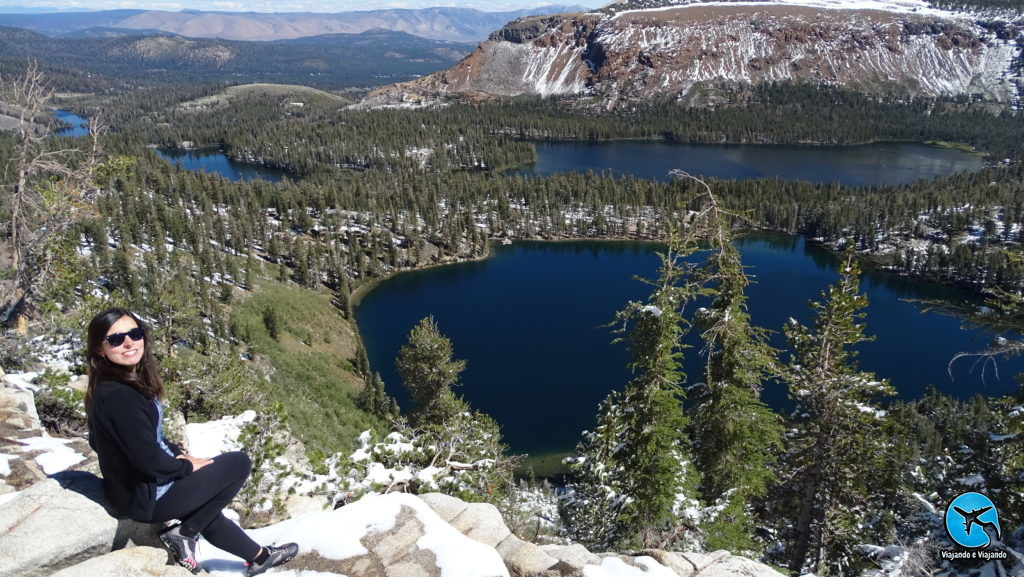 Mammoth Lakes view