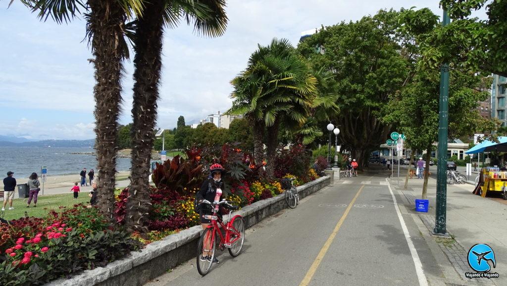 Bicicleta em Vancouver Bike in Vancouver