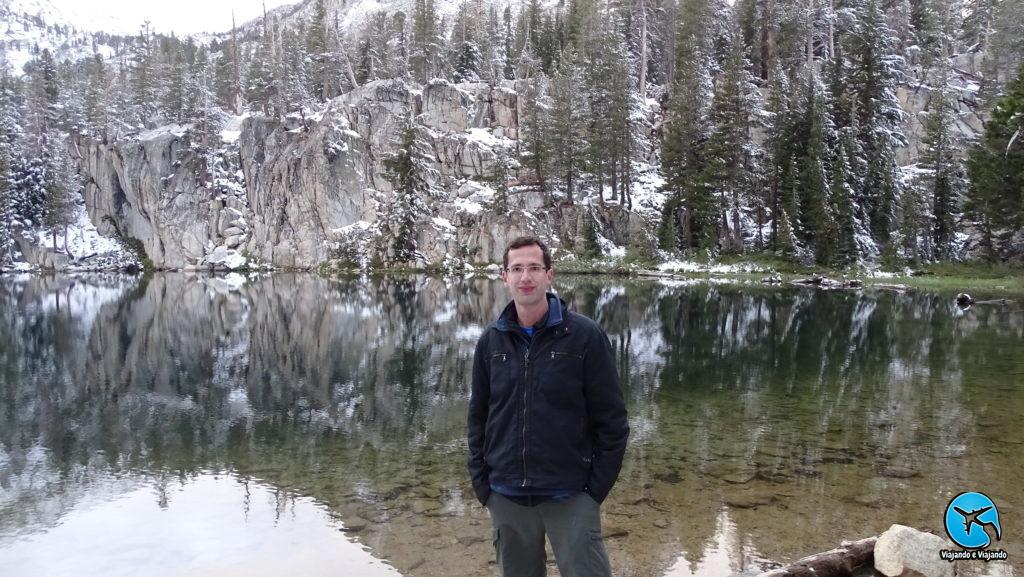 TJ Lake in Mammoth Lakes