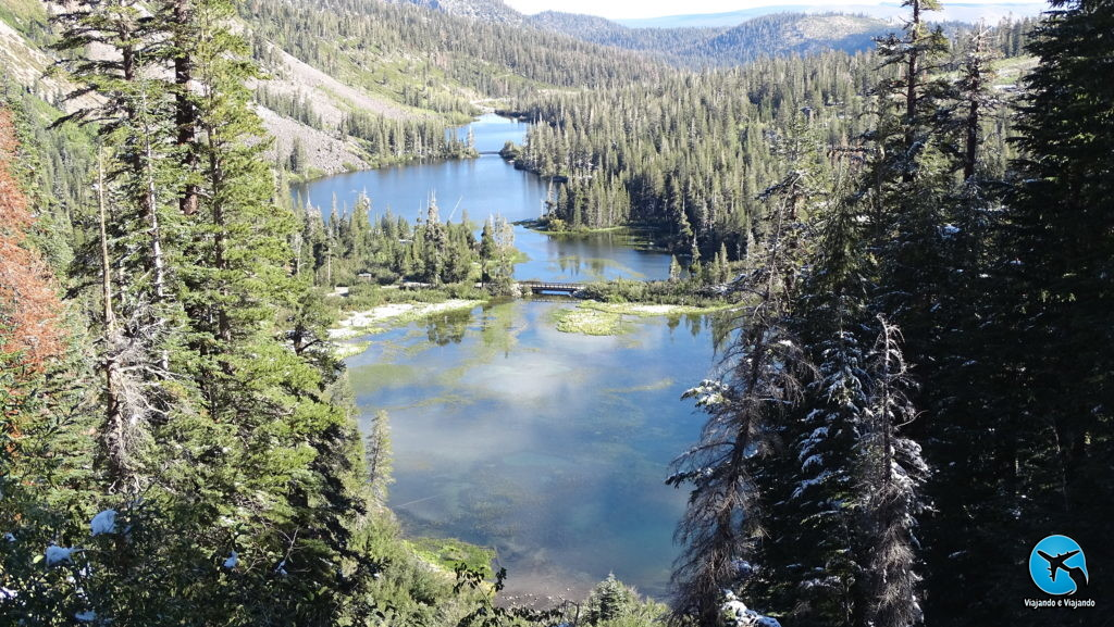 Twin Lakes View Point em Mammoth Lakes California