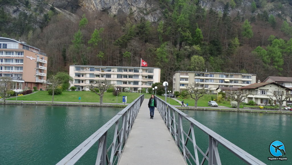 Passeio no centro de Interlaken
