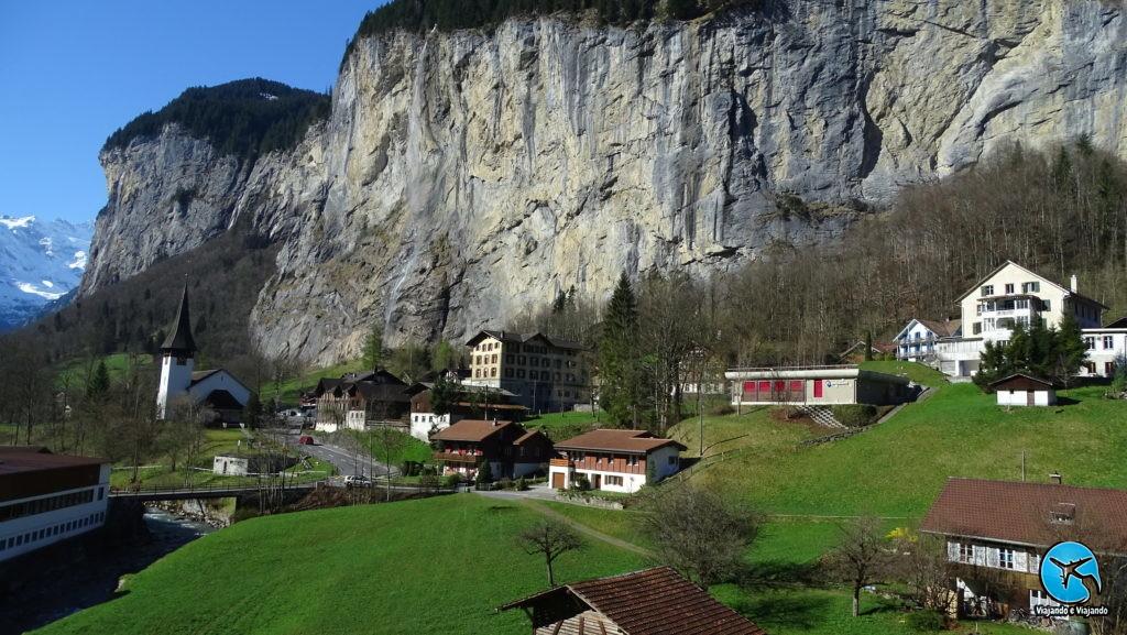 Lauterbrunnen vilarejo suíça