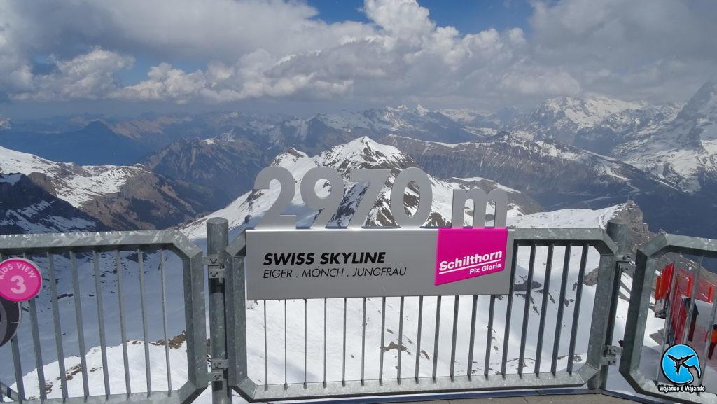 Schilthorn 2970m Suíça