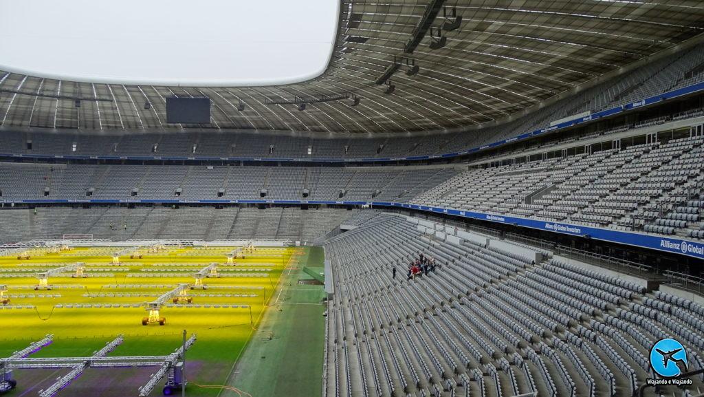 Allianz Arena estádio do Bayern de Munique