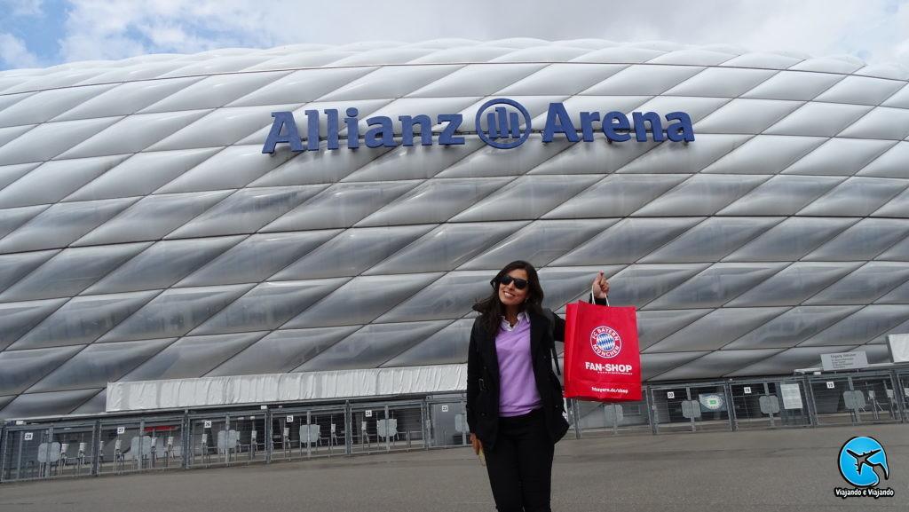 Mega store Bayern de Munique