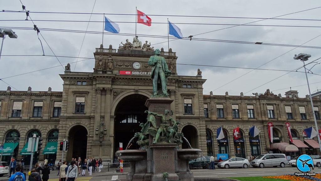 Zurich HB estação de trem